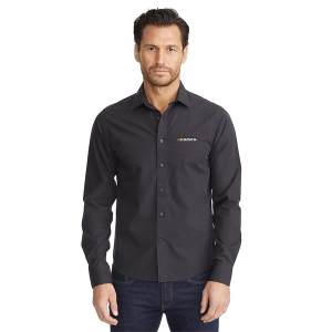 UNTUCKit Black Stone Wrinkle-Free Long Sleeve Slim-Fit Shirt